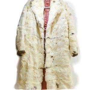 Jackets & Blazers - Long fur vintage jacket size S